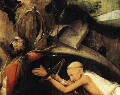Bosch Saint Jérôme (détail)