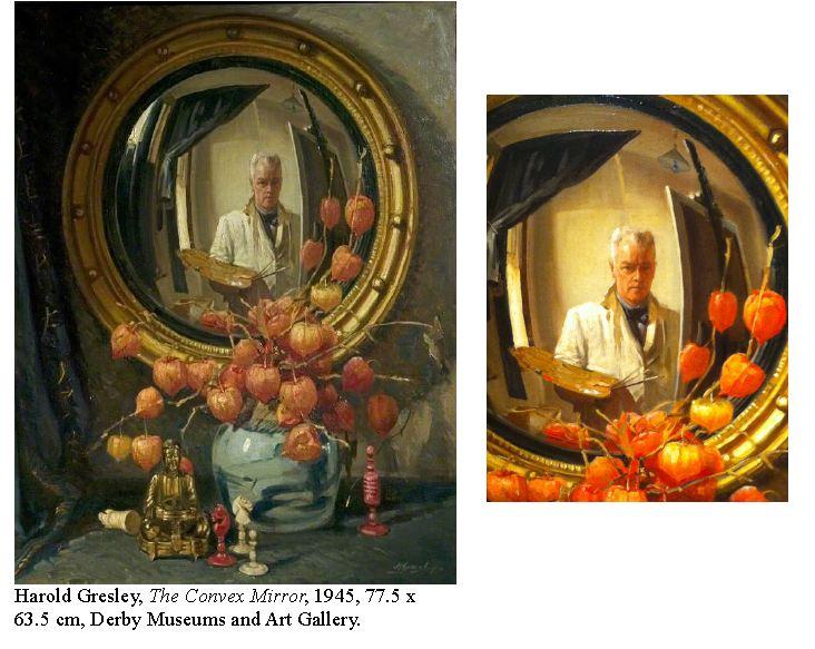 Harold Gresley, The Convex Mirror, 1945