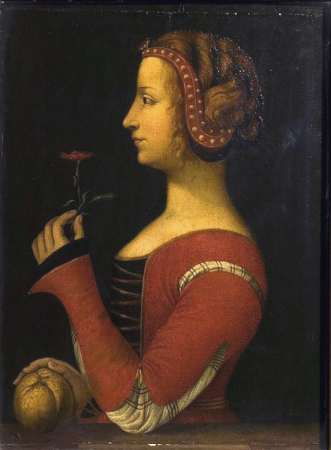 Laura. Léonard de Vinci