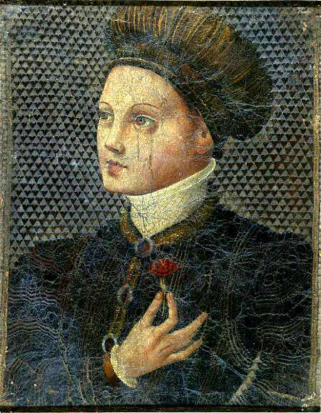 Tableau anonyme. Young Man