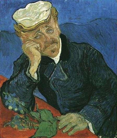Van Gogh. Portrait du Docteur Gachet 2