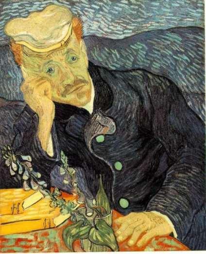 Van Gogh. Portrait du Docteur Gachet 1