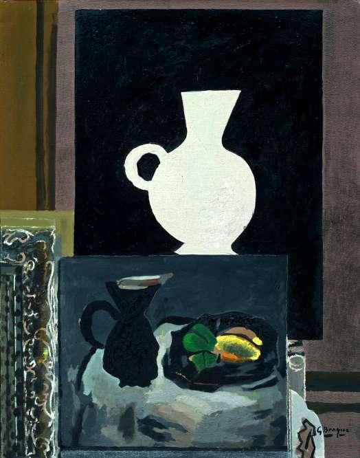 Georges braque atelier 1949 for Braque peintre