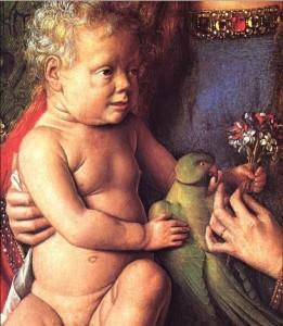 Jan van Eyck. Madone au chanoine van der Peale. 1436. Groeningemuseum. Bruges