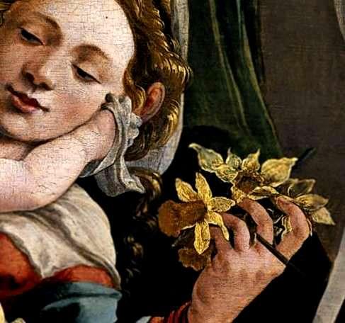 Madone de Jan Van Scorel (détail)