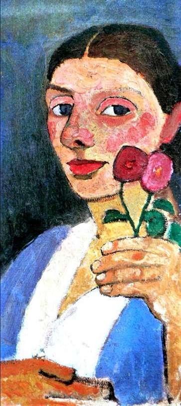 Paula Modersohn-Becker, autoportrait