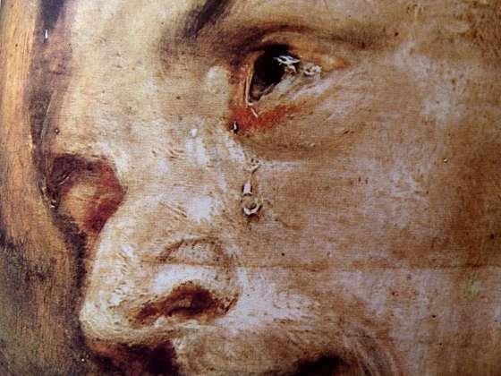 Rubens - dernière communion de St François (détail)