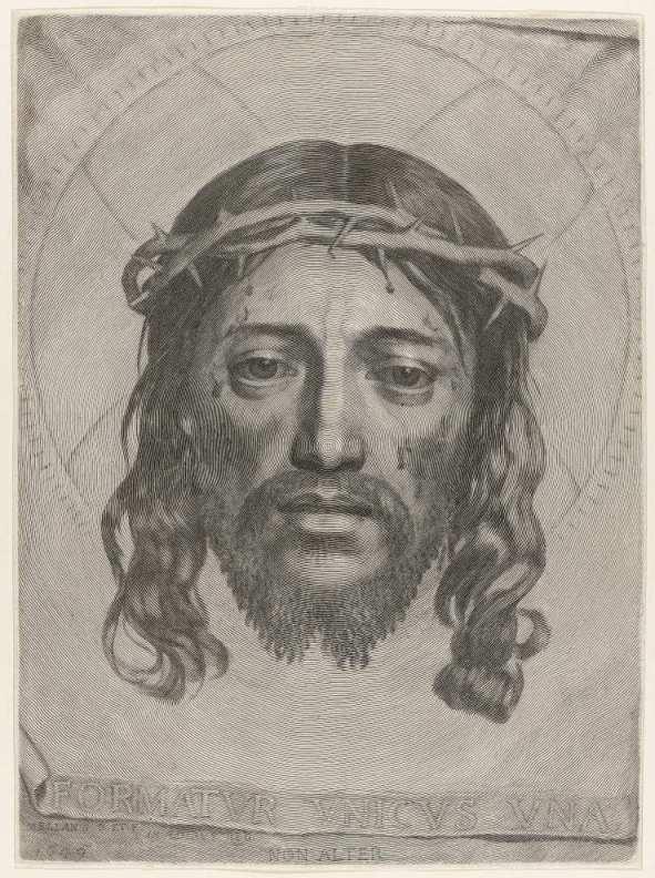Claude Mellan La Sainte Face