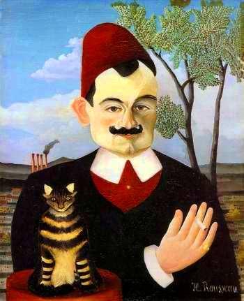 Douanier Rousseau Portrait de Monsieur X 1906 hst
