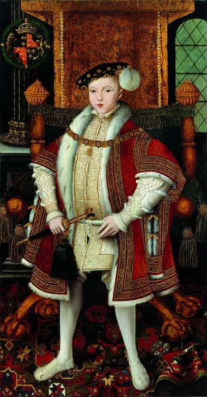 Atelier associé au maître dit «Master John» Edouard VI vers 1547 155,6 x 81,3 cm huile sur bois Londres, National Portrait Gallery © National Portrait Gallery, London, England