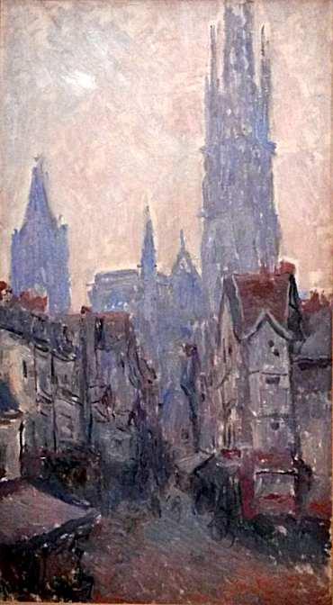 Monet - Rue de l'Epicerie à Rouen