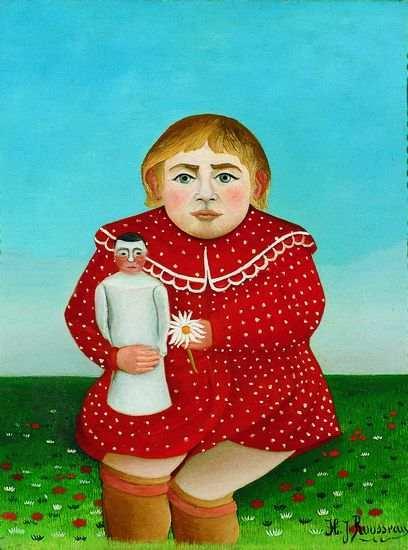Douanier Rousseau - L'enfant à la poupée - Musée de l'Orangerie