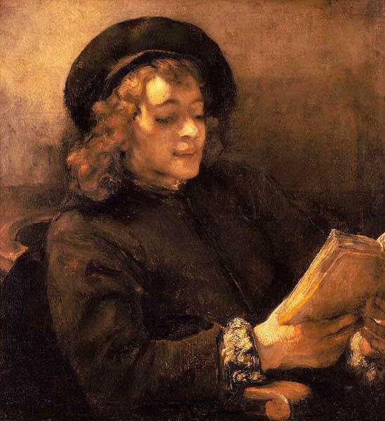 Rembrandt (1606-1669) Titus lisant - Vers 1658 - Huile sur toile - 71,5 cm x 64,5 cm Vienne, Kunsthistorisches Museum, Gemäldegalerie © KHM-Museumsverband