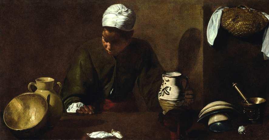 Diego Velázquez La Mulata 1617-1618 huile sur toile, 55,9 x 104,2 cm Chicago, The Art Institute © The Art Institute, Chicago